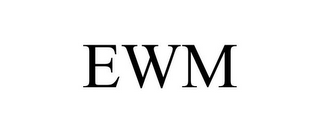 mark for EWM, trademark #77414251