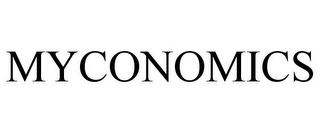 mark for MYCONOMICS, trademark #77414278