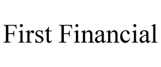 mark for FIRST FINANCIAL, trademark #77415637