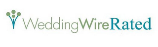 mark for WEDDING WIRE RATED, trademark #77415769