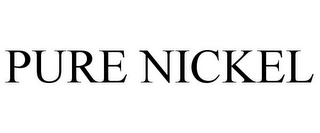 mark for PURE NICKEL, trademark #77420201