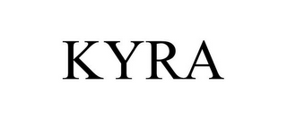 mark for KYRA, trademark #77420569