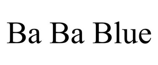 mark for BA BA BLUE, trademark #77420976