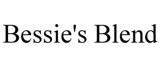 mark for BESSIE'S BLEND, trademark #77421011