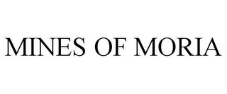 mark for MINES OF MORIA, trademark #77421397