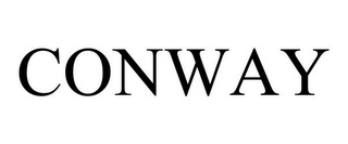 mark for CONWAY, trademark #77424676