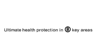 mark for ULTIMATE HEALTH PROTECTION IN 8 KEY AREAS, trademark #77425625