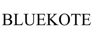 mark for BLUEKOTE, trademark #77425963