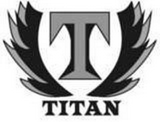 mark for T TITAN, trademark #77426377