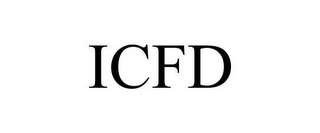 mark for ICFD, trademark #77430792