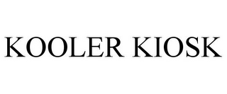 mark for KOOLER KIOSK, trademark #77432339