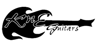 mark for KNE GUITARS, trademark #77437803