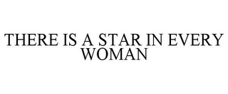 mark for THERE IS A STAR IN EVERY WOMAN, trademark #77439735