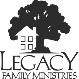 mark for LEGACY FAMILY MINISTRIES, trademark #77442156