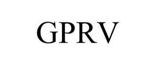 mark for GPRV, trademark #77443866