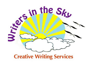 mark for WRITERS IN THE SKY CREATIVE WRITING SERVICES, trademark #77448063