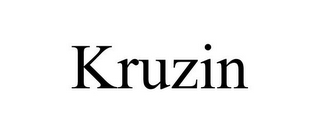 mark for KRUZIN, trademark #77448076
