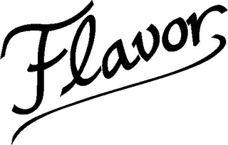mark for FLAVOR, trademark #77453058