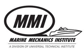 mark for MMI MARINE MECHANICS INSTITUTE A DIVISION OF UNIVERSAL TECHNICAL INSTITUTE, trademark #77453897