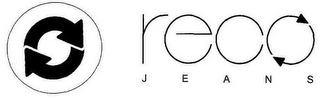 mark for RECO JEANS, trademark #77455349