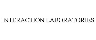 mark for INTERACTION LABORATORIES, trademark #77455887