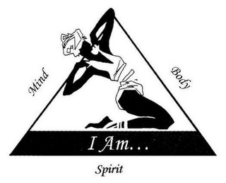 mark for I AM... MIND BODY SPIRIT, trademark #77456253