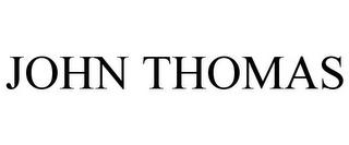 mark for JOHN THOMAS, trademark #77460832
