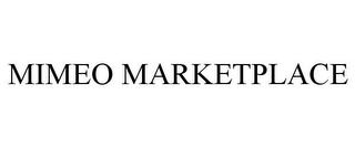 mark for MIMEO MARKETPLACE, trademark #77461476