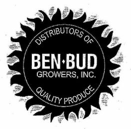 mark for BEN-BUD GROWERS, INC. DISTRIBUTORS OF QUALITY PRODUCE, trademark #77462297
