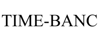 mark for TIME-BANC, trademark #77465516