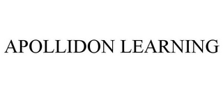 mark for APOLLIDON LEARNING, trademark #77465854