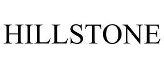 mark for HILLSTONE, trademark #77468409