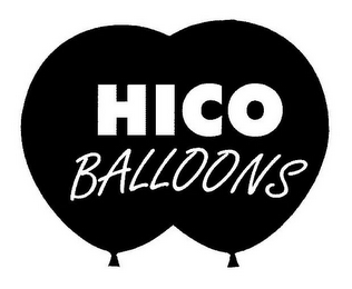 mark for HICO BALLOONS, trademark #77469141
