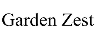 mark for GARDEN ZEST, trademark #77469742