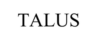 mark for TALUS, trademark #77470088