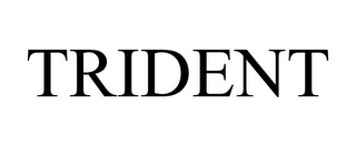 mark for TRIDENT, trademark #77470288