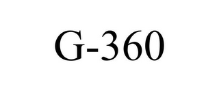mark for G-360, trademark #77471055