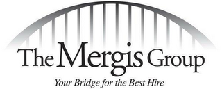 mark for THE MERGIS GROUP YOUR BRIDGE FOR THE BEST HIRE, trademark #77473258
