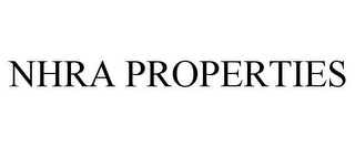 mark for NHRA PROPERTIES, trademark #77478171