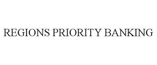 mark for REGIONS PRIORITY BANKING, trademark #77479989