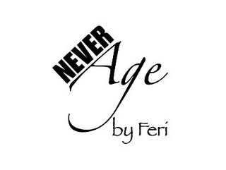 mark for NEVER AGE BY FERI, trademark #77480711