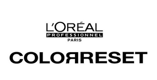 mark for L'ORÉAL PROFESSIONNEL PARIS COLORRESET, trademark #77481373