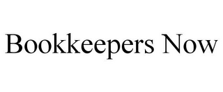 mark for BOOKKEEPERS NOW, trademark #77481616