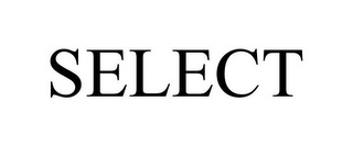 mark for SELECT, trademark #77482514