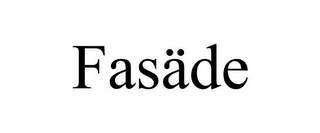 mark for FASÄDE, trademark #77483558