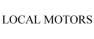 mark for LOCAL MOTORS, trademark #77486015