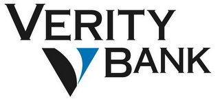 mark for VERITY BANK V, trademark #77490303