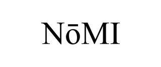 mark for NOMI, trademark #77493493