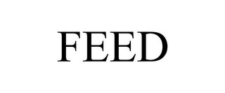 mark for FEED, trademark #77502947