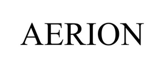 mark for AERION, trademark #77506752